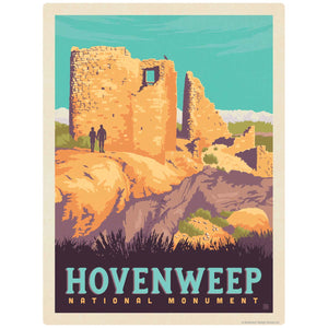 Hovenweep National Monument Colorado Utah Decal