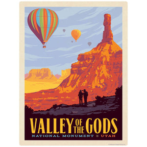Valley Of The Gods Utah Decal