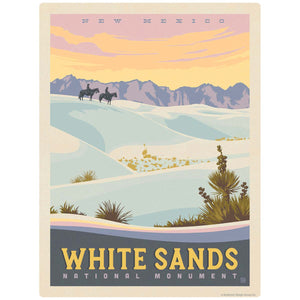 White Sands National Monument New Mexico Decal
