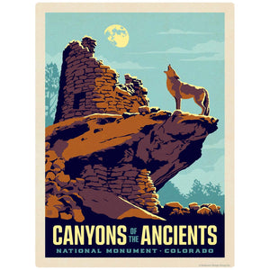 Canyons Of The Ancients Colorado Decal