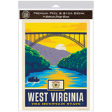 West Virginia Mountain State Decal