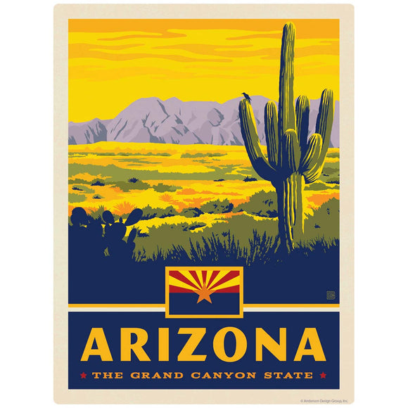 Arizona Grand Canyon State Decal