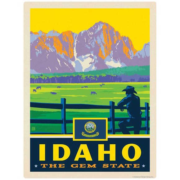 Idaho Gem State Decal