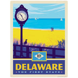 Delaware First State Beach Decal