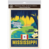 Mississippi Magnolia State Decal