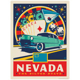 Nevada Silver State Casino Decal