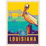 Louisiana Pelican State Decal