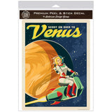 Venus Space Travel Decal