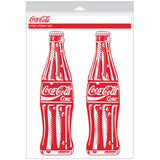 Coca-Cola Bottles Red Pop Art Sticker Sheet of 2