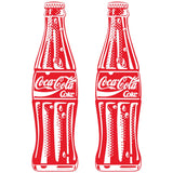 Coke Bottle PopArt2 Wholesale Sticker Set of 2