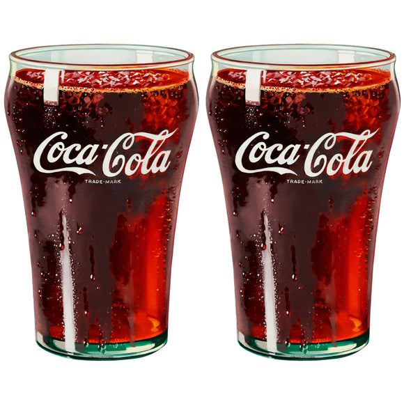 Coke Bell Glass - Large Glasses Sticker Sheet Wholesale Sticker Set