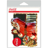 Coca-Cola Santa They Remembered Me Sticker