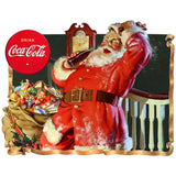 VintageSanta_W2277 Wholesale Sticker