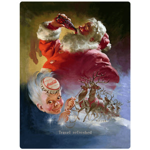 VintageSanta_W2288 Wholesale Sticker