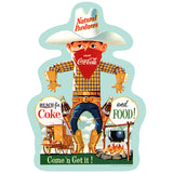 Cowboy Reach For Food And Coke Wholesale Sticker