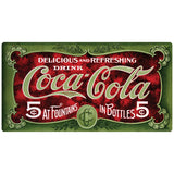 Coca-Cola In Fountains And Bottles Wholesale Sticker