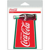 Coca-Cola Drink Logo with Bottle Sticker