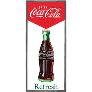 Coke Refresh Metal Sign Resized Wholesale Sticker