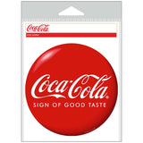 Coca-Cola Sign of Good Taste Red Disc Sticker