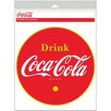 Coca-Cola Drink 1930s Logo Orange Letters Decal