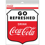 Coca-Cola Go Refreshed Shield Decal