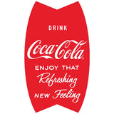 Coca-Cola Vertical Fishtail Refreshing Wholesale Decal