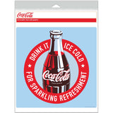 Coca-Cola Sparkling Refreshment Banner Decal