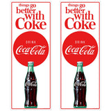 Things Go Better Coke Vertical Composite Wholesale Decal