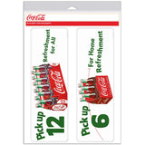 Pick Up 12 Coke Refreshment For All Decal 1950s Style