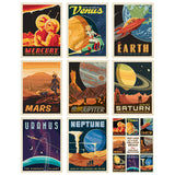 Solar System Planets Decal Set