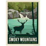 Big Creek Decal Smoky Mtns National Park