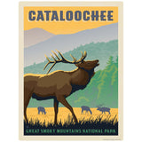 Cataloochee Decal Smoky Mtns National Park