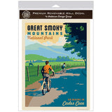 Cades Cove Biking Decal Smoky Mtns National Park