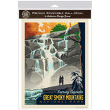Ramsey Cascades Decal Smoky Mtns National Park