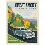 Newfound Gap Route 441 Decal Smoky Mtns National Park