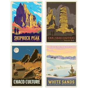 New Mexico Decal Set of 4