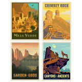 Colorado Decal Set of 4