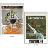 Great Smoky Mountains Waterfalls Decal Set of 4