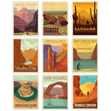 Arizona Decal Set of 9