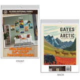 Alaska National Parks Decal Set Set of 9