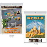 Central And South America Decal Set Set of 9