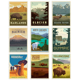 Great Northwest Decal Set Set of 9