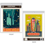 Chicago Hot Dog Decal Set of 2