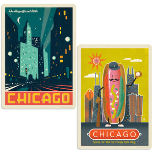 ADG Chicago2 2 Decal Set Wholesale - US Travel