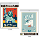 New York City Empire State Decal Set of 2