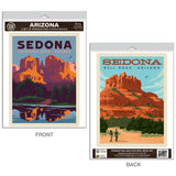 Sedona Arizona Decal Set of 2