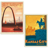 ADG MO 2 Decal Set Wholesale - US Travel