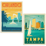 ADG FL2 2 Decal Set Wholesale - US Travel