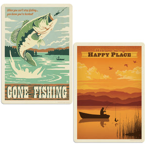 ADG Fishing 2 Decal Set Wholesale - Lake & Lodge