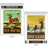 Deer Hunting Decal Set of 2
